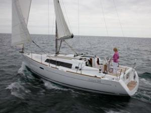 A Beneteau Oceanis 34